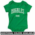 Nogales Mexico One Piece - Baby Infant Creeper Romper NB-24M - Nogalense Sonora