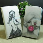 Marilyn Monroe Pretty Girl Wallet Pouch Stand flip case cover for Huawei Phone