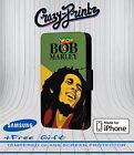 Bob Marley Jamaican Reggae fits iPhone/Samsung Leather Flip Case Cover Wallet A1