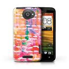 STUFF4 Phone Case/Back Cover for HTC One X /Modern Vibrant