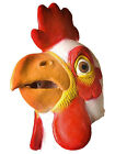Novelties Deluxe Adult Latex Chicken Mask for Party Halloween Costume