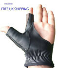 New Archery Left & Right Hand Bow Glove Black Adjustable Fastening (S,M,L,XL)