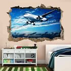 Aircraft Airplane Wall Art Stickers Mural Kids Bedroom Home Office Decor Am23