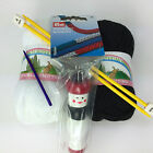 Children's Knitting kit starter set wool dolly & needles great gift idea