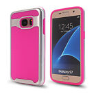 New Shockproof Wave Pattern Hybrid Rubber Hard Cover Case For Samsung Galaxy S7