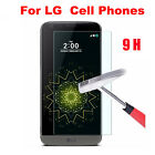 9H Explosion Proof Tempered Glass Screen Protector Film Cover For LG Cell Phones