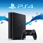 Sony PlayStation 4 Slim 500GB - PS4 Jet Black Console (New Retail Box - 2016)