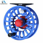 3/4/5/6/7/8WT Fly Reel CNC Machined Aluminum Micro Adjust Blue Fly Fishing Reel