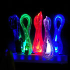 Flowing Visible LED Light UP Micro USB Data Sync Charger Cable for Android Lot