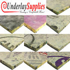 CHEAP PU Carpet Underlay ORDER PER M2 UK Manufactured 8mm-10mm-12mm Branded Roll