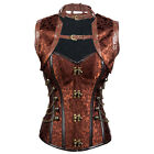 Plus Size Corsets and Bustiers Sexy Jacket Steampunk Corset Burlesque Outfits