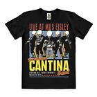 Star Wars: Rogue One - Cantina Band Easy Fit Organic T-Shirt, schwarz, LOGOSHIRT