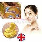 100Pair Crystal Collagen 24k Gold Under Eye Gel Pad Face Mask Anti Aging Wrinkle