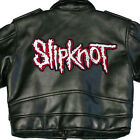 SLIPKNOT NEW X-LARGE BACK SEW ON PATCH BLACK LETTERS NEW RARE