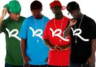 Rocawear Mens Boys Swinger Summer Holiday T-Shirts Time Is Hip Hop Skater Tee