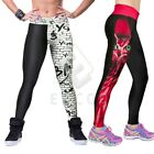 Sexy Women Sports Pants Trousers Yoga Fitness Running Athletic Leggings YBLE42