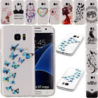 Ultra Slim Soft TPU Clear Rubber Silicone Back Case Cover For Samsung Galaxy S7