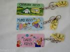 Smiley Keyrings Caravan keys Dog Keyring Cat Keyring  dads keys