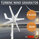 WIND TURBINE GENERATOR 300W DC12V HYACINTH DRIVEN 6 BLADES LARGE POWER EXCELLENT