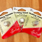 Quilting Thimble Non Slip Top - Two Sizes Medium & Small - Ideal for quilters