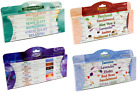 Stamford Incense Sticks - 6 Pack Gift Set - Moods, Exotic, Floral, Aromatherapy