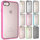 For iPhone 7/7 Plus Hybrid Shockproof Classic Impact Matte Clear Hard Case Cover