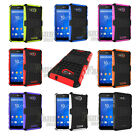 Heavy Duty Armor Hybrid Case Cover For Sony Xperia E4g,E2003 E2006 E2053