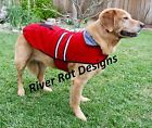 Reflective Fleece warm pet DOG Coat Winter Jacket Clothes Sweater