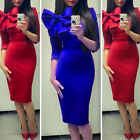 Sexy Autumn Bodycon Women OL Business Midi Dress NEW Party Cocktail Slim Skirt