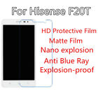 3pc For Hisense F20T High Clear/Matte/Nano Explosion/Anti Blue Ray Screen Film