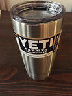 New Yeti 12 20 30 oz Rambler Stainless Steel Coffee Mug Cup Insulated Tumbler