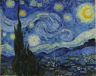 The Starry Night 1889,Vincent Van Gogh, Giclee print on Canvas- Up to inches 36