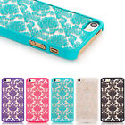 Xmas Luxury Hollow Pattern Women Girl Hard Case Cover For iPhone678 X Samsung S6