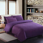 SINGLE Bed Poly Cotton sheet Fitted Flat Valance Base Duvet Cover & Pillow Cases