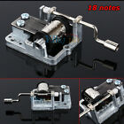 swan lake song - Many Songs!Mechanical DIY Tune Hand Crank 18 Notes Music Box Set Movement Newest
