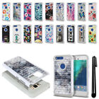 "For Google Pixel 5"" HTC Anti Shock Studded Bling HYBRID Case Phone Cover + Pen"