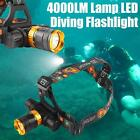 Quality 4000LM Lamp LED Underwater Waterproof Diving Headlamp Flashlight Torch