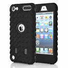 Heavy Duty Armor Rugged Hybrid Shockproof Case Cover For iPod Touch 5th-6th Gen