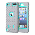 Heavy Duty Armor Rugged Hybrid Shockproof Case Cover For iPod Touch 5th/6th Gen