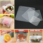 New Re-usable Stretch and Fresh Food Wraps Silicone Food Bowl Covers Wrap E9