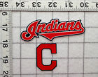 CLEVELAND INDIANS MLB Iron On Fabric Appliques No Sew 3 diff sets FREE SHIPPING