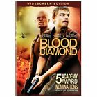 Blood Diamond (DVD, 2007, Widescreen) BRAND NEW IN WRAPPER   $3 MOVIE TIME!!