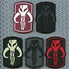 boba fett star wars PVC rubber 3D mandalorian bounty hunter fastener patch $10.11 CAD