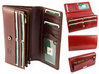 Visconti Large Womens Ladies Italian Leather Purse Wallet In Gift Box - MZ10