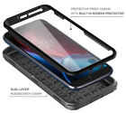 FULL BODY SHOCKPROOF HYBRID RUGGED HARD CASE COVER W/ BUILT-IN SCREEN PROTECTOR