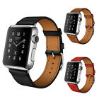 Genuine Leather Band Single Tour Bracelet Watchband For Apple Watch iWatch Sport