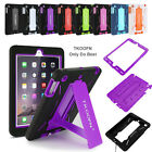 Shockproof Tough Heavy Hard Case Cover for iPad Air&Mini 1/2/3 iPad 2/3/4 Lot