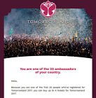 Tomorrowland 2017 Ticket First 20 Pre-Presale-Link *Full Madness Pass Dreamville