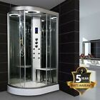 Insignia GT9002 Right Carbon Colours Hydro Shower Enclosure 1200 x 800 Leak Free