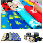 Soft Warm Paw Print Fleece Blanket Mat Cover For Pet Cat Puppy Dog Lovely